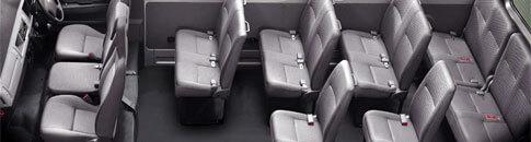 9 and 13 Seater Minibus
