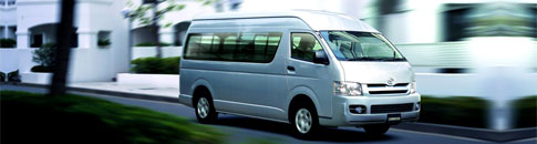 9 seater Maxi Cab rental